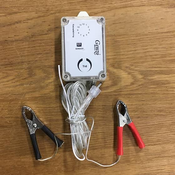 Genzo Max-LED styrrelä
