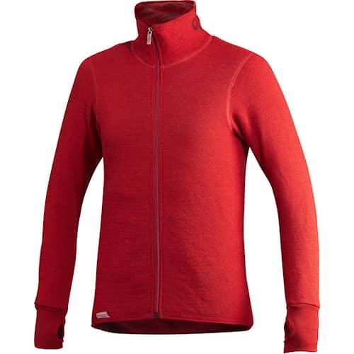 Woolpower Full zip 400g Autumn Red
