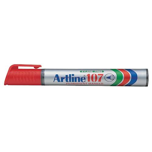 Merkintäkynä Artline 107 S punainen
