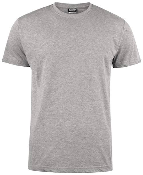 Clique T-shirt Miesten Harmaameleerattu