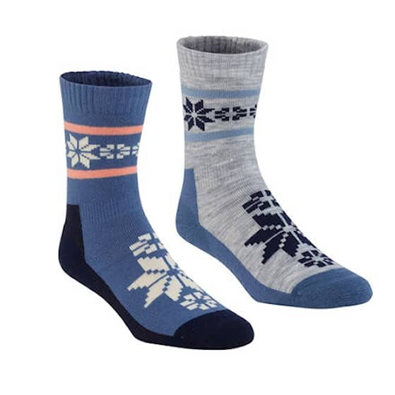 Kari Traa Rusa Wool Socka 2-pack Den