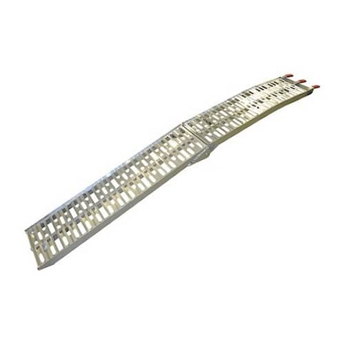 1 par Aluminiumramp vikbar 225x30 cm 550 kg