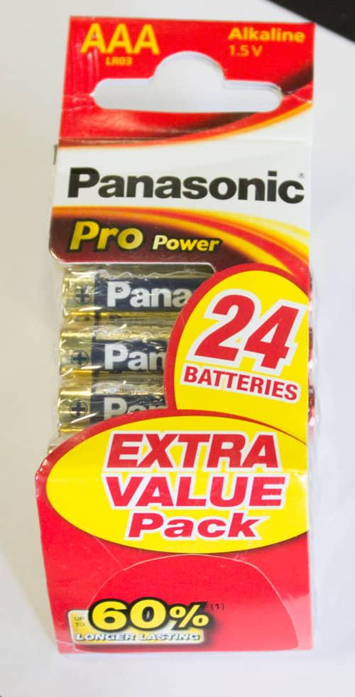 Panasonic Pro Power AAA 24-pack
