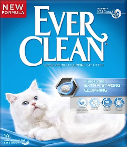Ever Clean Extra Strong Unscented 10l Kattsand