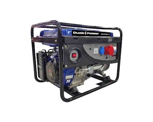 DUAB-POWER Elverk MG7500CL-3 1-fas/3-fas bensin