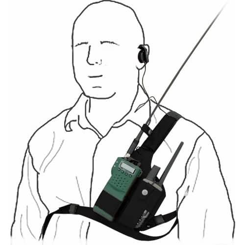 Edvardsson Dubbelsele högerskytt för Jaktradio och GPS