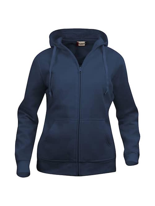 Clique Basic Hoody Fullzip Ladies Tumma Mariini