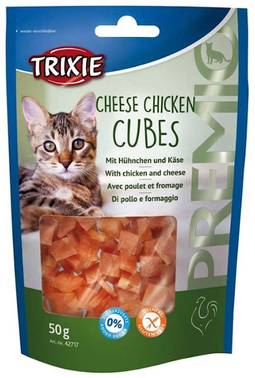 Premio Cheese Chicken Cubes 50g