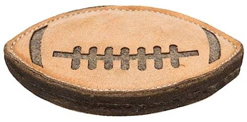 Rugbyboll Läder/Ull, 20cm