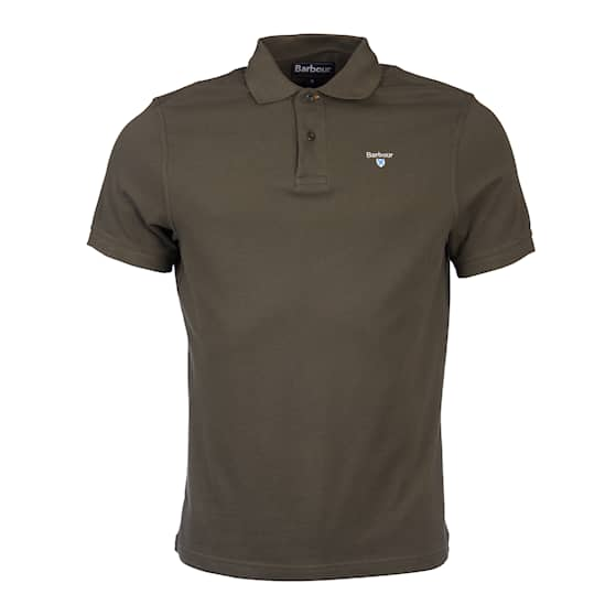 Barbour Sports Polo Olive, Miehet