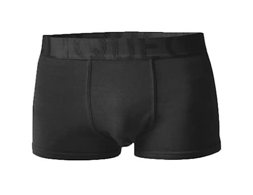 Bamboo Boxer Alushousut - Short Leg musta