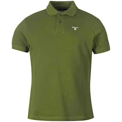 Barbour Sports Polo, Rifle Green - Herr