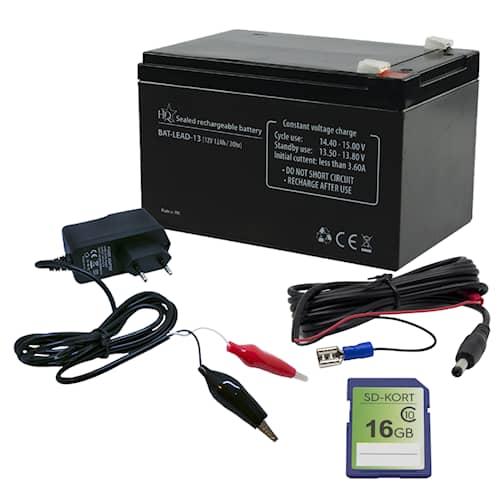 Lisävarustepaketti Pro-Optics 12V:lle