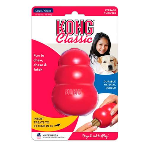 Kong Classic L 10 cm punainen