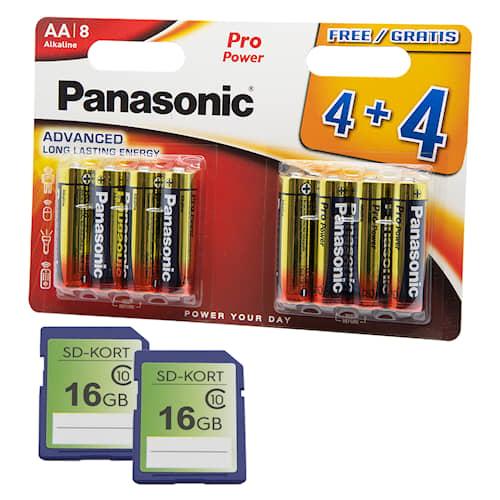 Lisävarustepaketti kameralle -2 SD-korttia