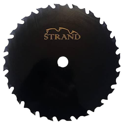 Strand Röjsågsklinga Hårdmetall 225 x 25,4mm