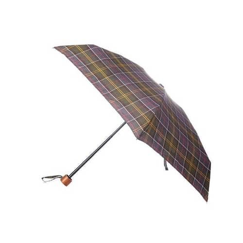 Barbour Tartan Handbag Umbrella, Classic Tartan