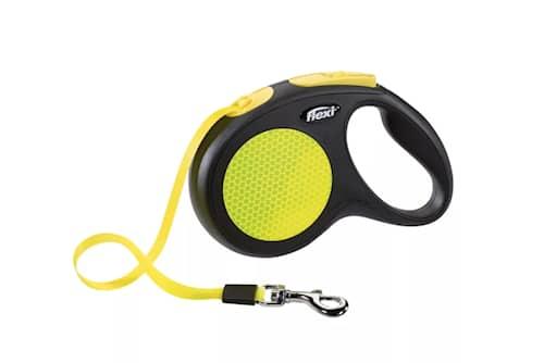 Flexi Flexi -talutin New Neon koko M, 5 m