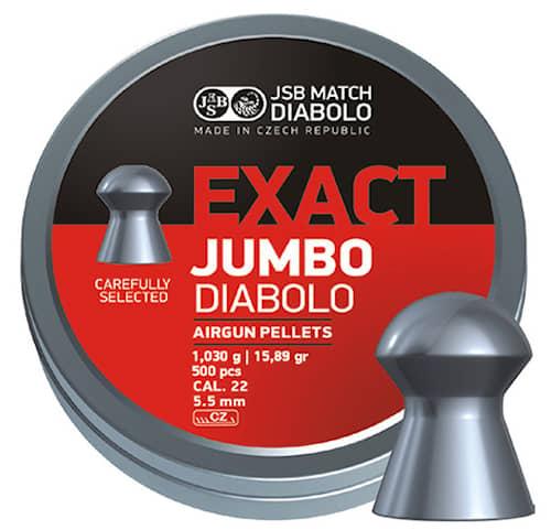 JSB Exact Jumbo, 5,50 mm - 1,030G 500 St