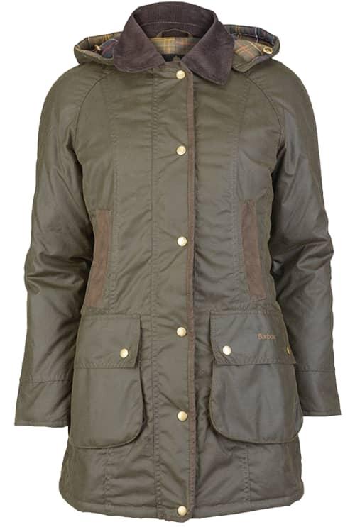 Barbour Bower Wax Jacket Naisten takki