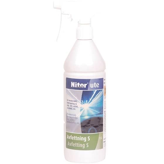 Nitor Kallavfettning Spray 1L