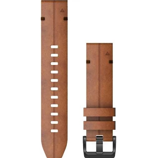 Garmin QuickFit 26 Klockarmband Kastanjefärgat Läder