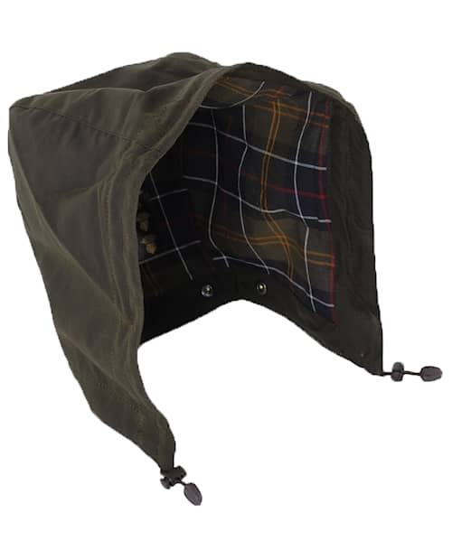 Barbour Classic Sylkoil Hood Oliv