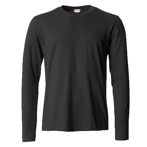 Clique Basic Långärmad tröja Svart