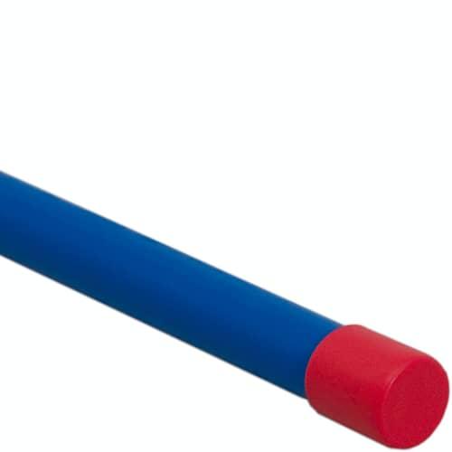 Rågångsstolpe Röd/blå Knopp 1,5m