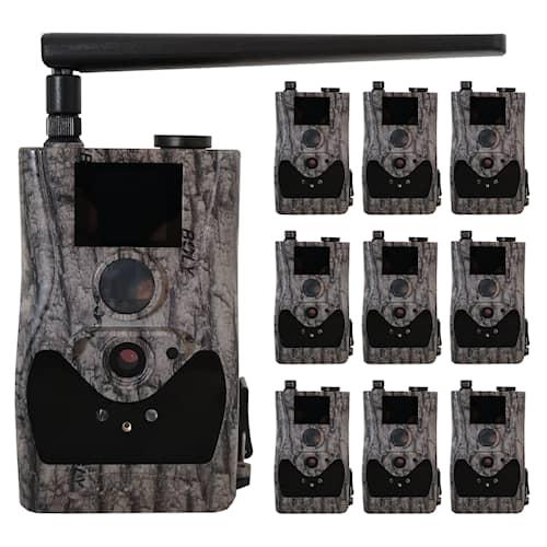 10-pack Bolyguard BG584G Övervakningskamera 4G - inkl 3 månaders HylteSIM