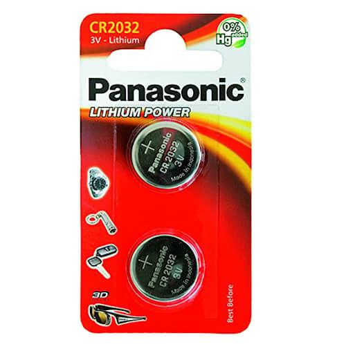 Panasonic CR2032 2-pakkaus