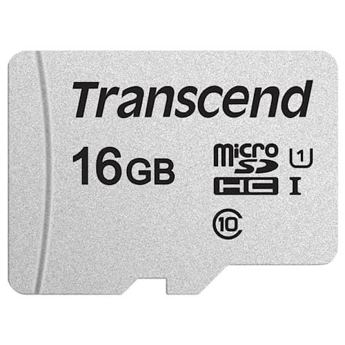 Transcend microSD-kortti 16GB