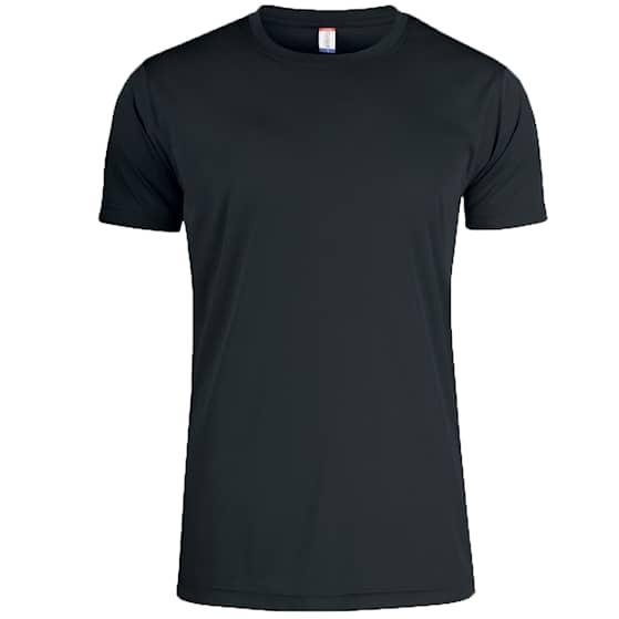 Clique T-shirt Funktion Svart