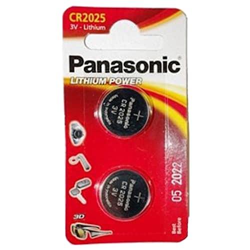 Panasonic CR2025 2-pakkaus