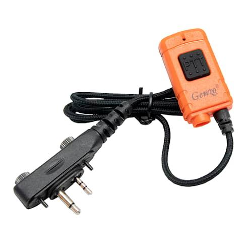 Genzo Kombi PTT (vain mikrofoniosa), Kulmaliitin E-ruuviliitännällä