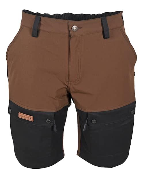 Woodline Shorts Boksund Brun/Svart