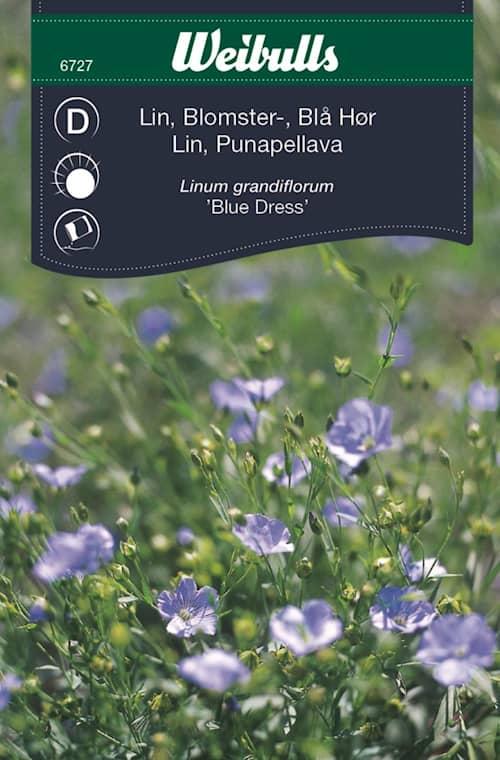 Weibulls Pellava siniset kukat