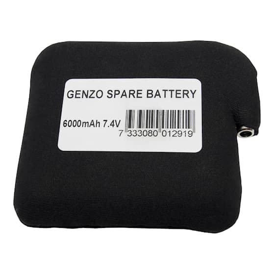 Batteri Genzo Artic värmeväst 6000mah