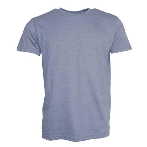 Clique T-paita Miesten Keskisininen Meleerattu
