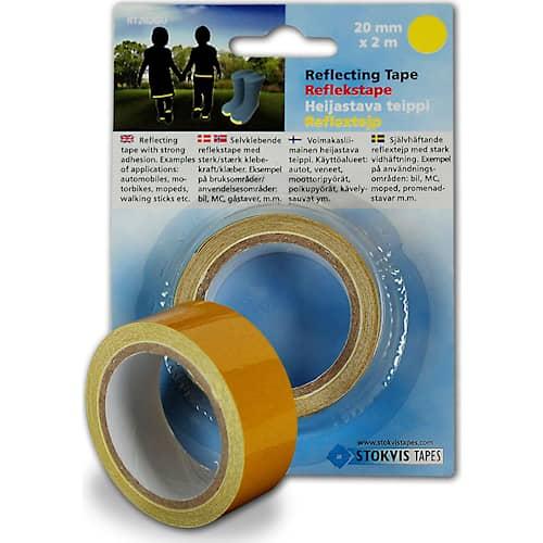 Heijastinnauha Stokvis Yellow 20mmx2m