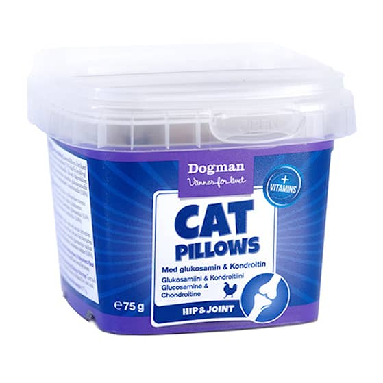 Cat Pillows med glukosamin & Kondroitin 75G