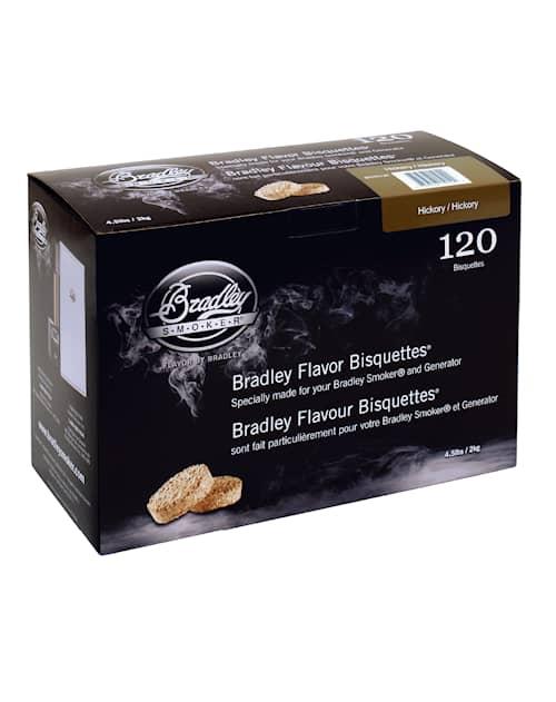 Bradley savustusbriketit Hikkori 120 kpl