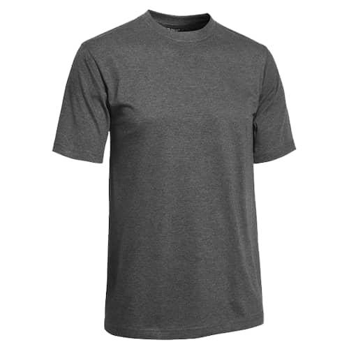Clique T-paita Miehet Tummanharmaa meleerattu