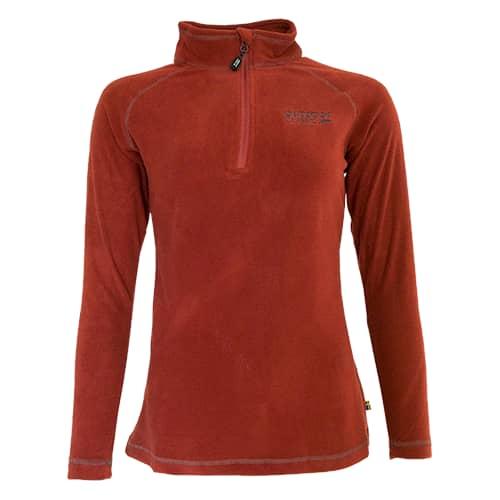 Outdoor Classic Pennebo Naisten Fleecepusero ruosteenpunainen