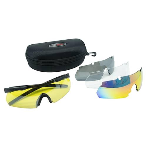 5etta Skytteglasögon Pro, 4 färger