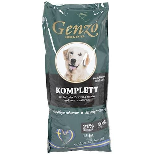 Genzo Complete 15 kg koiranruoka Koko Lava 24 pussia