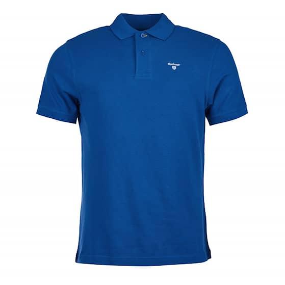 Barbour Sports Polo, Atlantic Blue