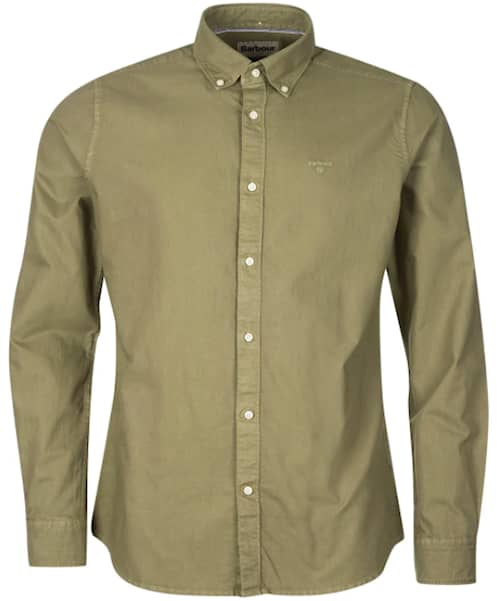 Barbour Oxford 13 Tailored Shirt, Olive