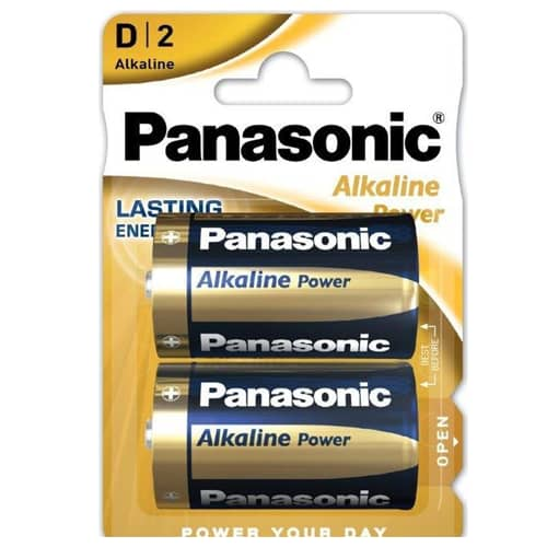 Panasonic Alkaline Power LR20