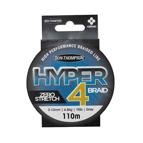 R.T. Hyper 4-Braid 110m 0,15mm 8,1kg Harmaa